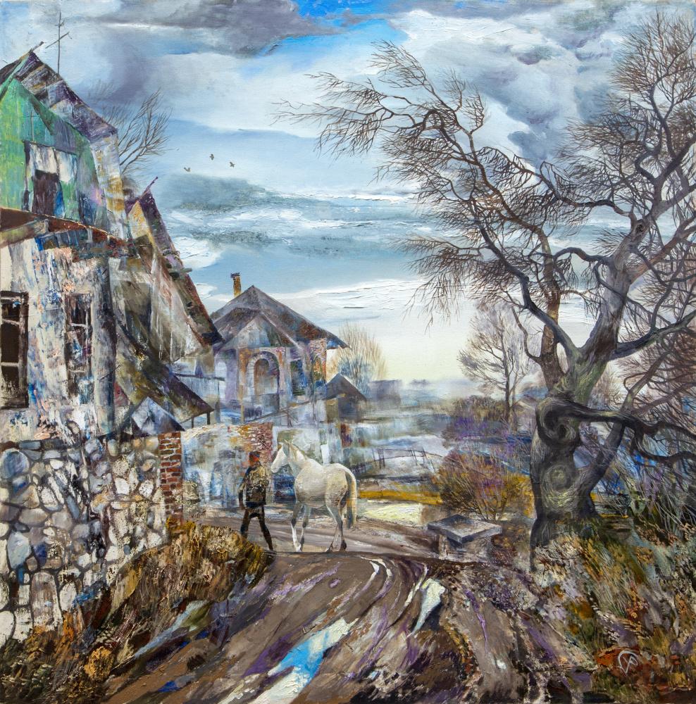 Rinat Salimzyanovich Khanafeev. White pools