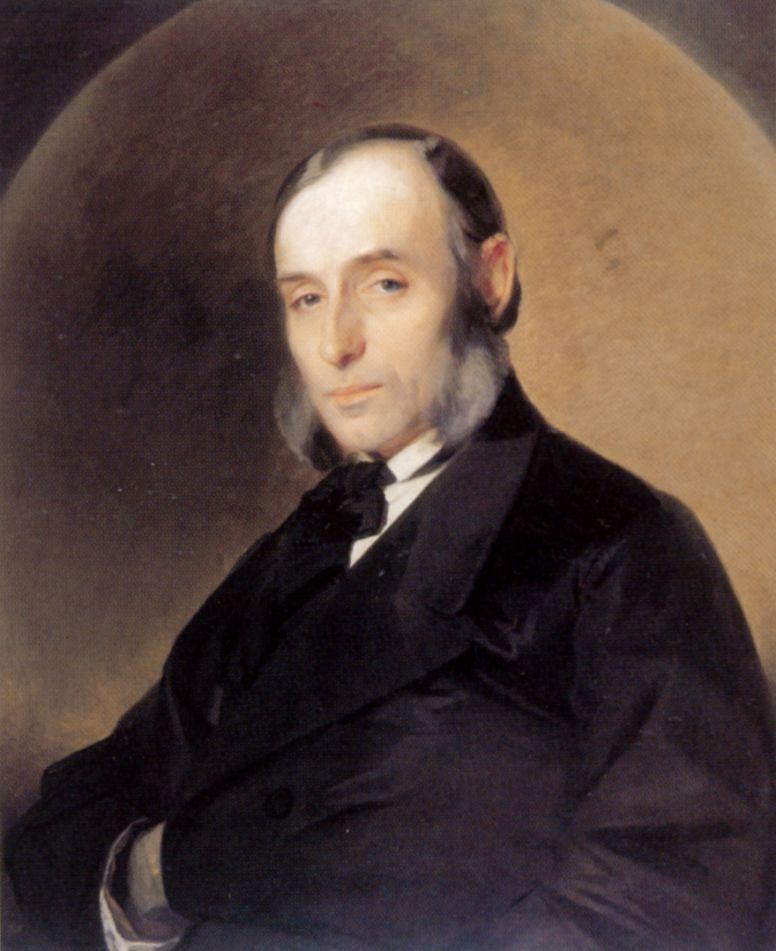 Ivan Kuzmich Makarov. Portrait of the architect Joseph Stepanovich Kaminsky