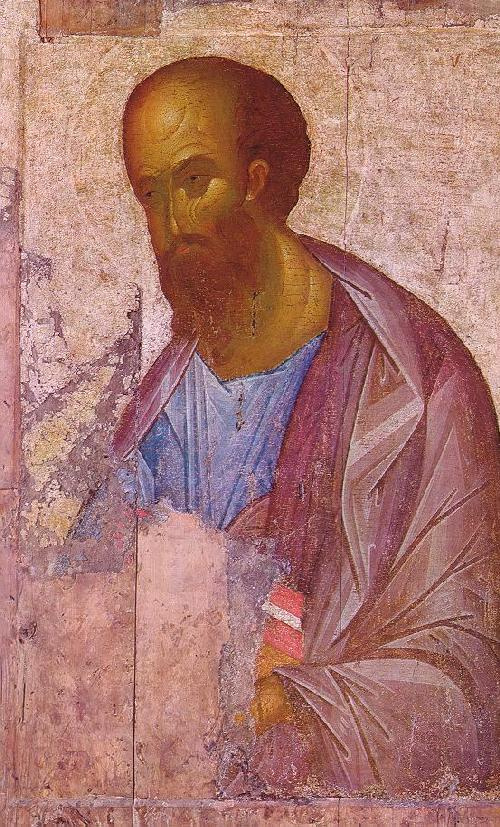 Icon Painting. The Apostle Paul