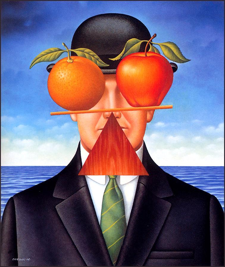 Gary Owerrac. Orange and Apple