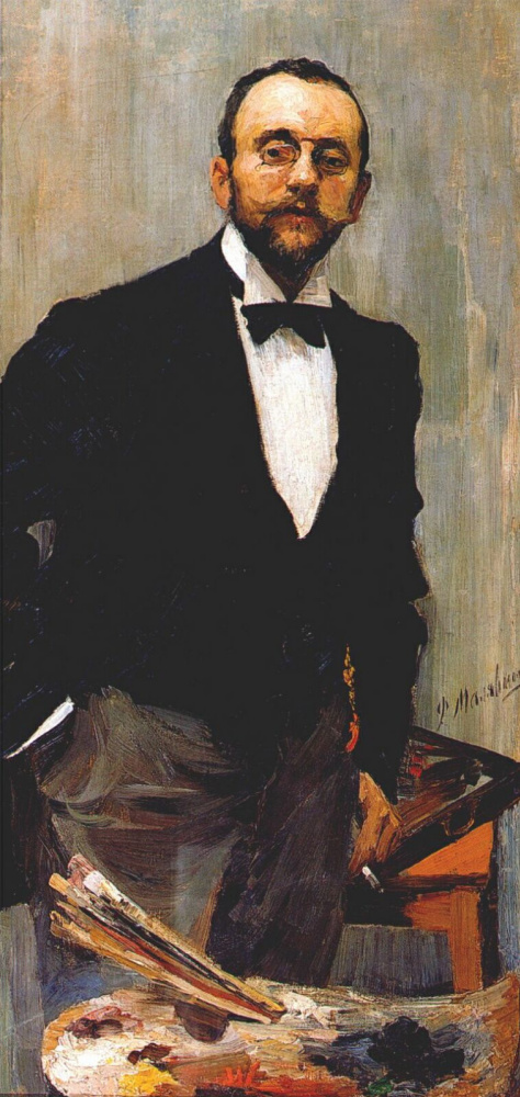 Филипп Андреевич Малявин. Портрет художника Игоря Грабаря