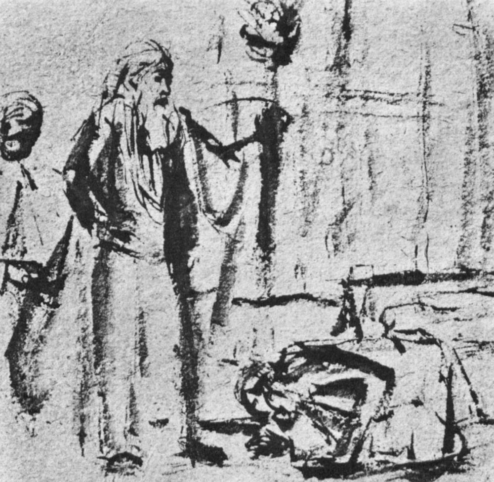 Рембрандт Ван Рейн. Призвание Авраама