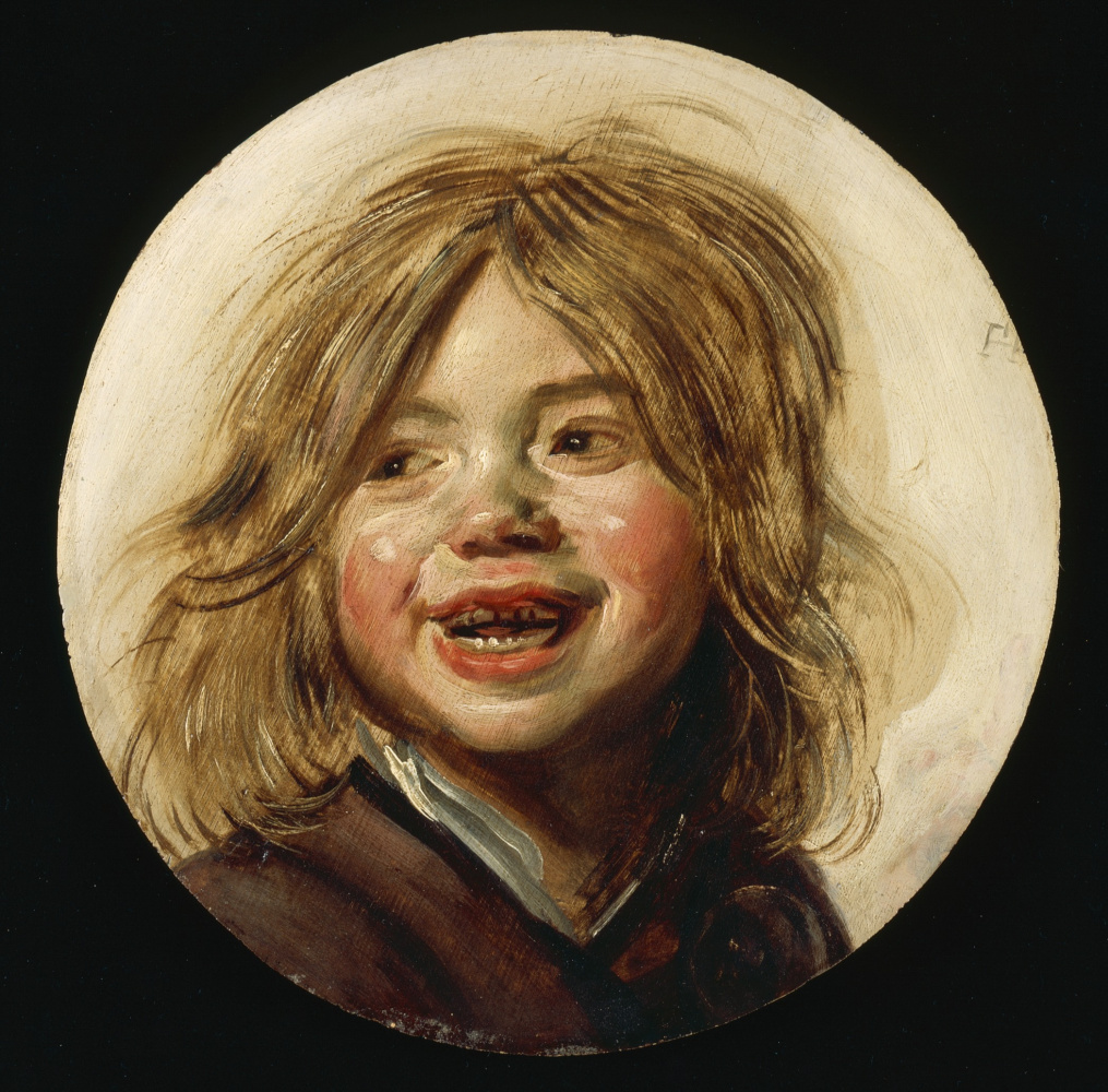 Frans Hals. Laughing baby