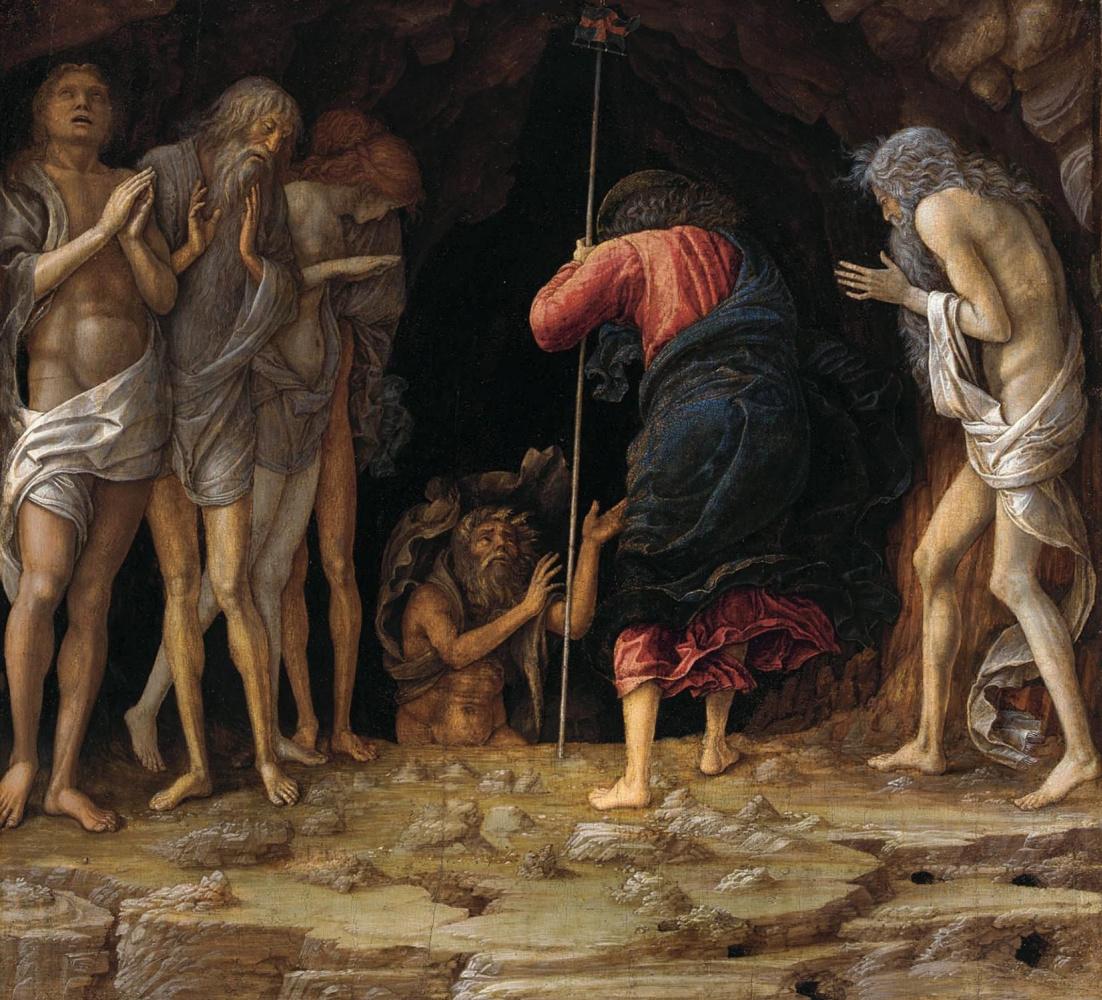 Andrea Mantegna. The descent to Limbo