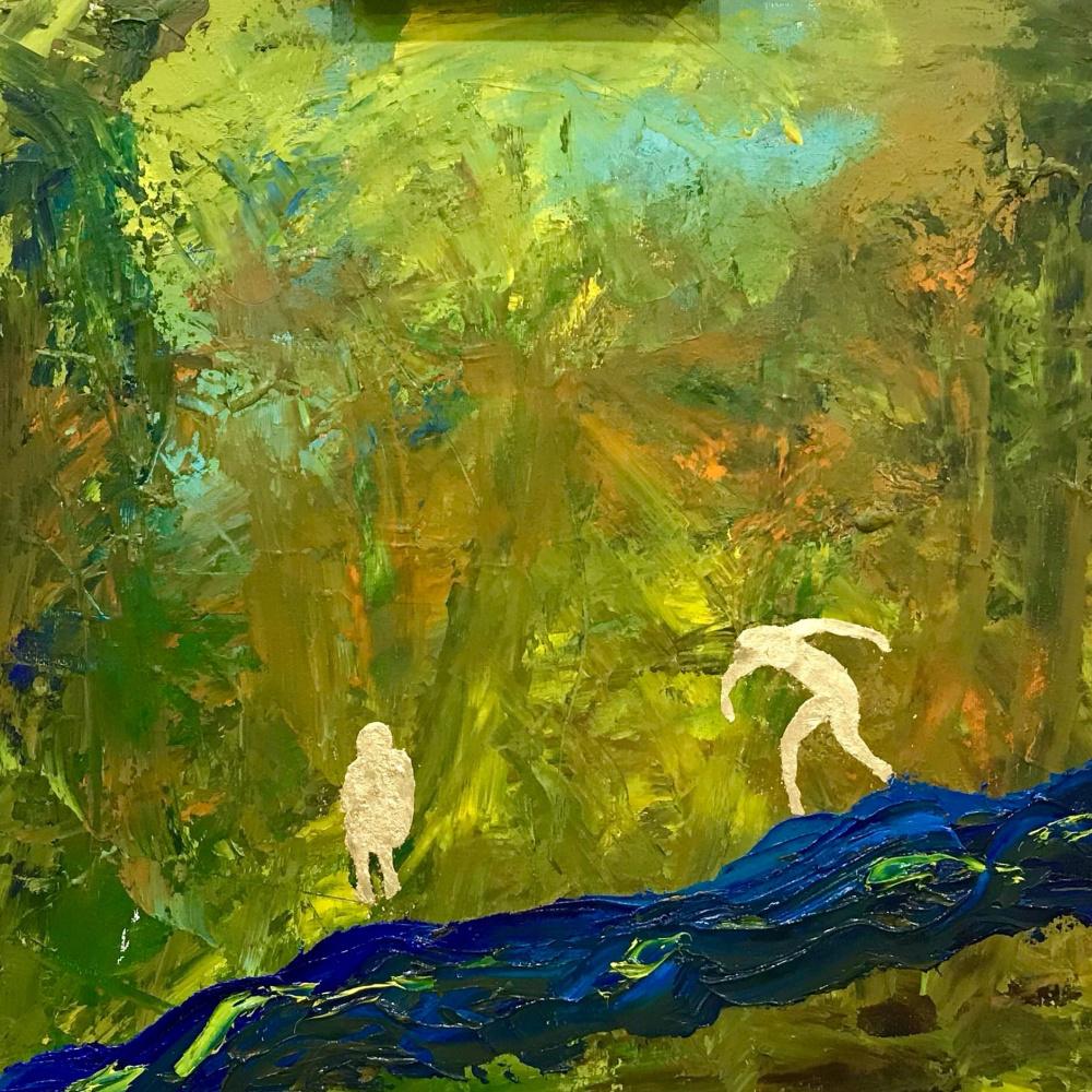Julia Tarakanova. Autumn in paradise. Adam and Eve.