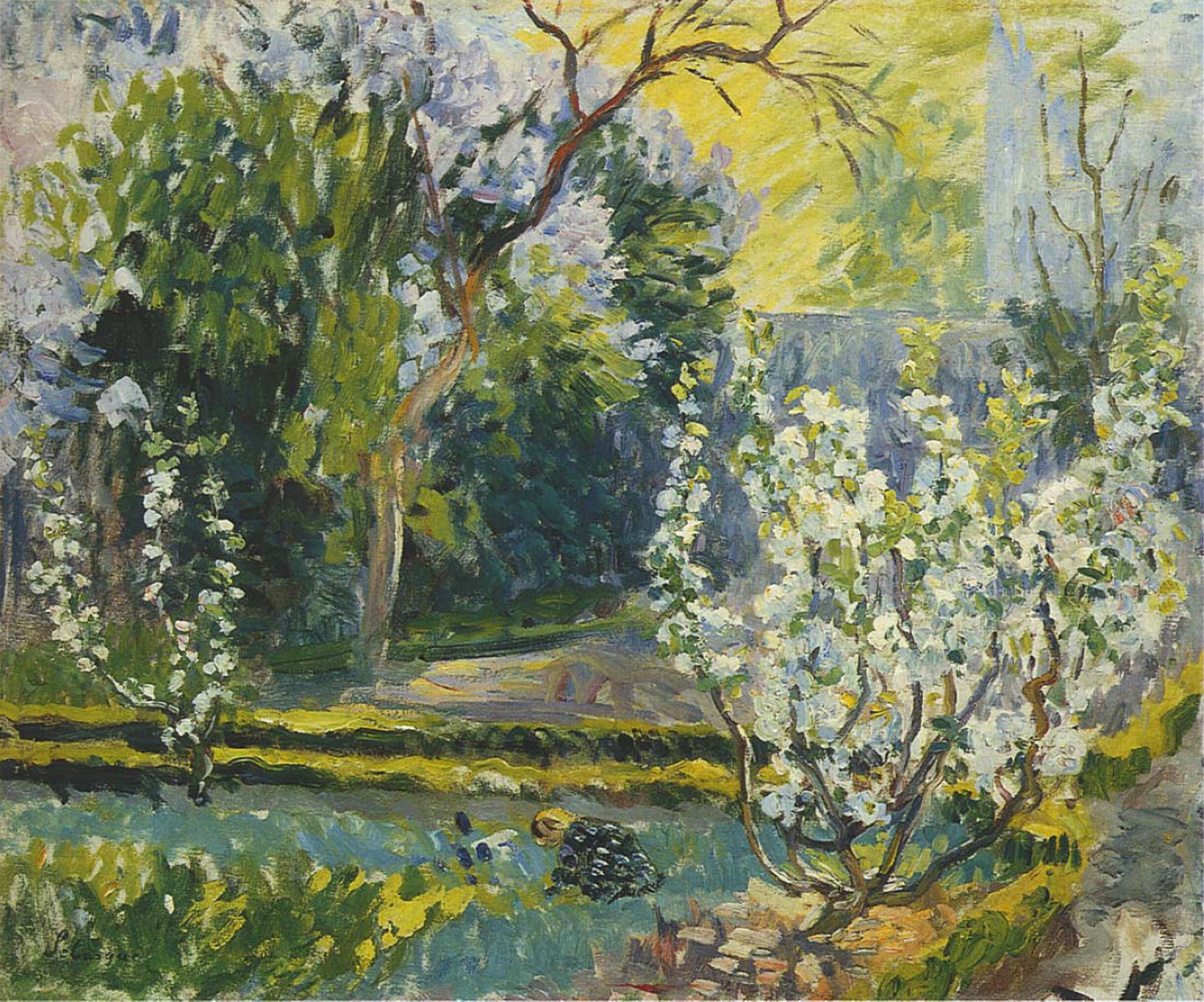 The garden in the spring by Henri Lebasque: History, Analysis & Facts