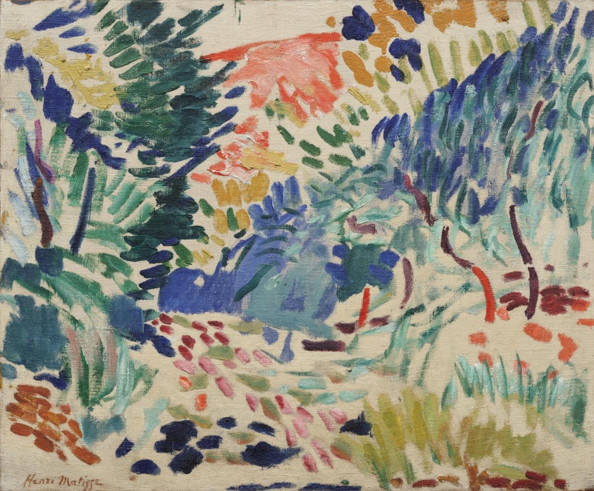 Henri Matisse. Landscape at Collioure