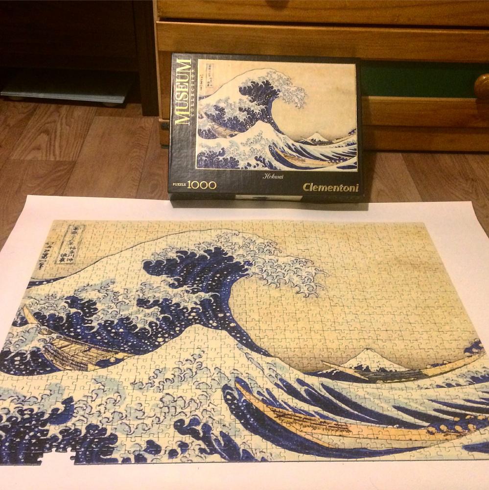 Anna Novikova. The Great Wave off Kanagawa