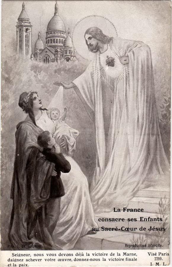 Сергей Сергеевич Соломко. Франция освящает своих детей пред святым сердцем Иисуса