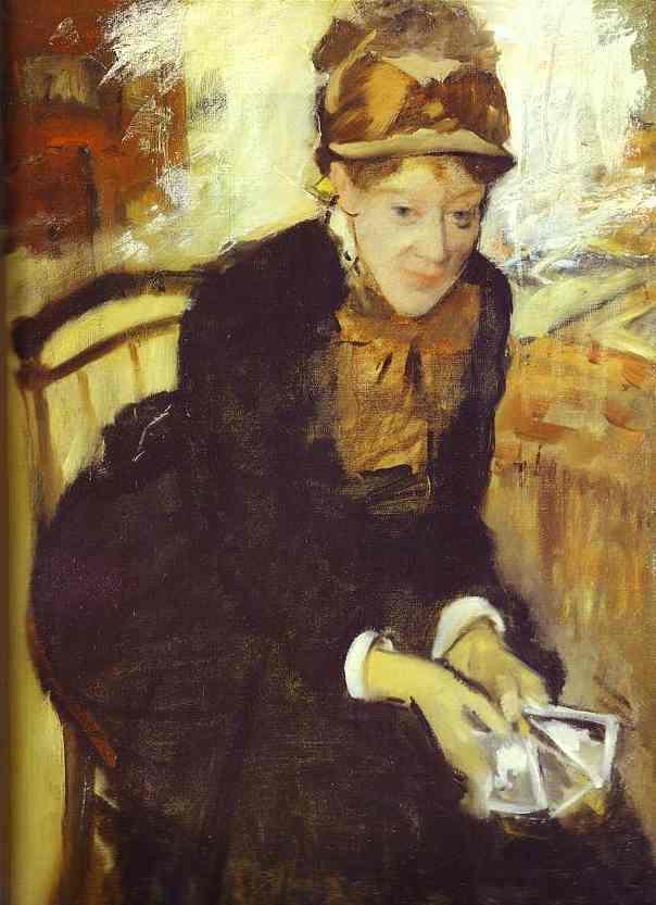 Edgar Degas. Mary Cassatt