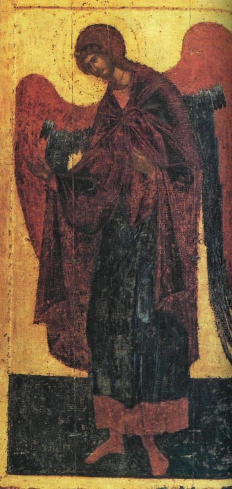 Theophanes Greek. Archangel Gabriel