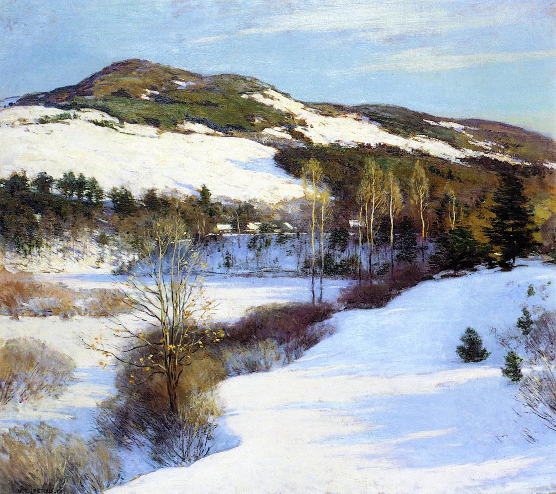 Willard Leroy Metcalfe. Cornish Hills