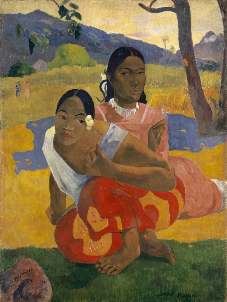 Paul Gauguin. When are you getting married?