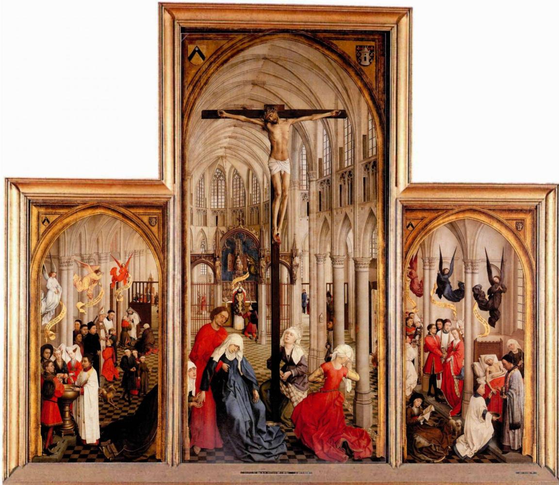 Rogier van der Weyden. The seven sacraments