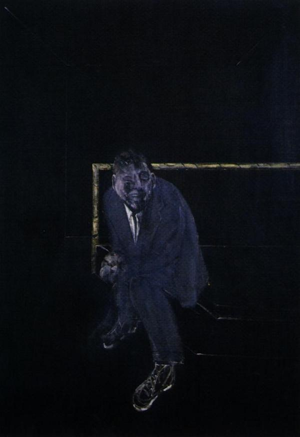 Francis Bacon. Self-portrait