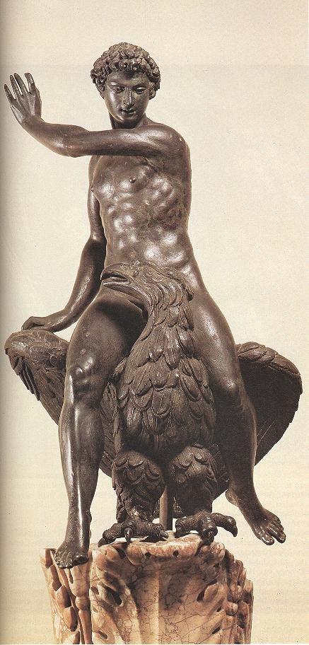 Benvenuto Cellini. Ganymede