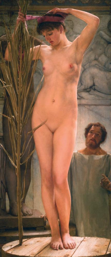 Лоуренс Альма-Тадема. Модель скульптора