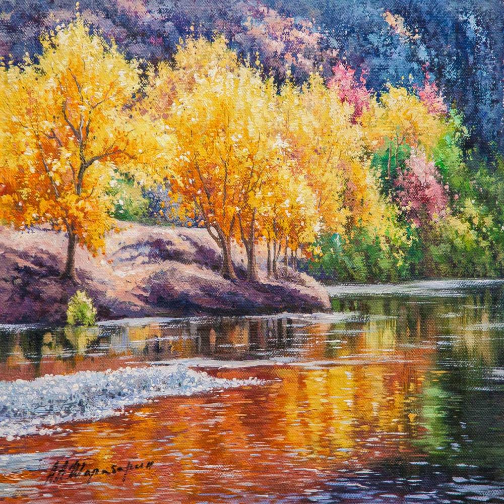 Andrey Sharabarin. Плывет осень по реке…