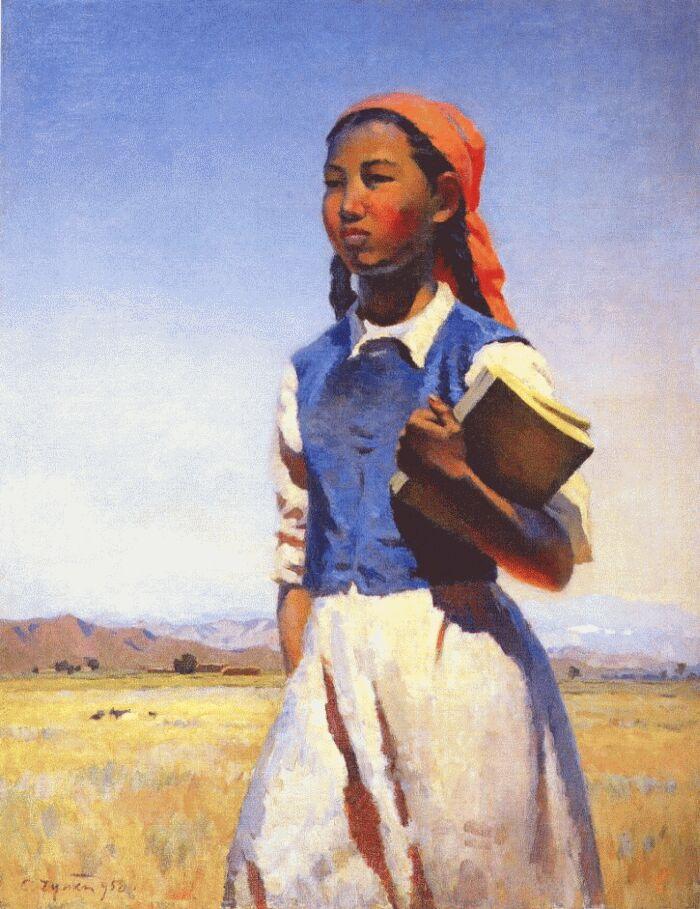 Семен Чуйков. Дочь Советской Киргизии