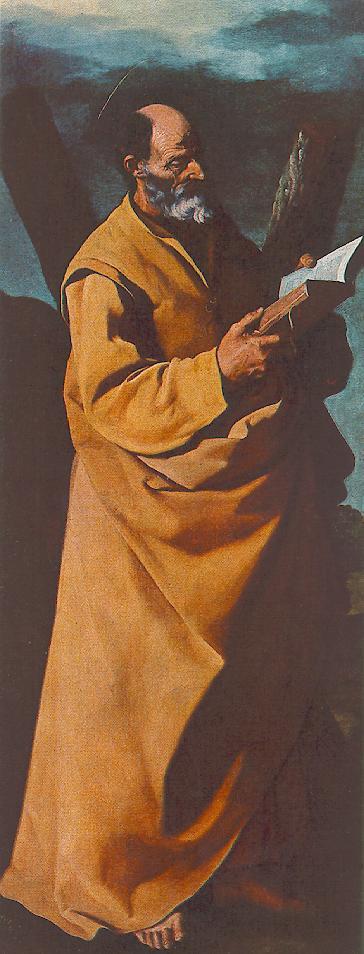 Франсиско де Сурбаран. Апостол Андрей