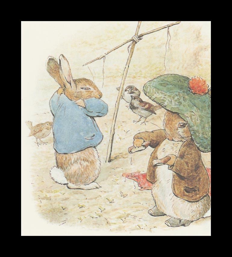 Бенджамин и Кролик Питер Банни. Сказка о кролике Питере 5