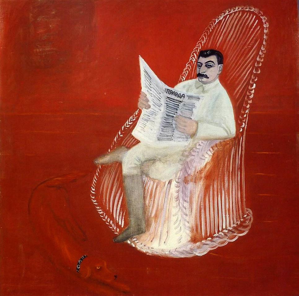 George Iosifovich Rublev. Portrait I.V. Stalin