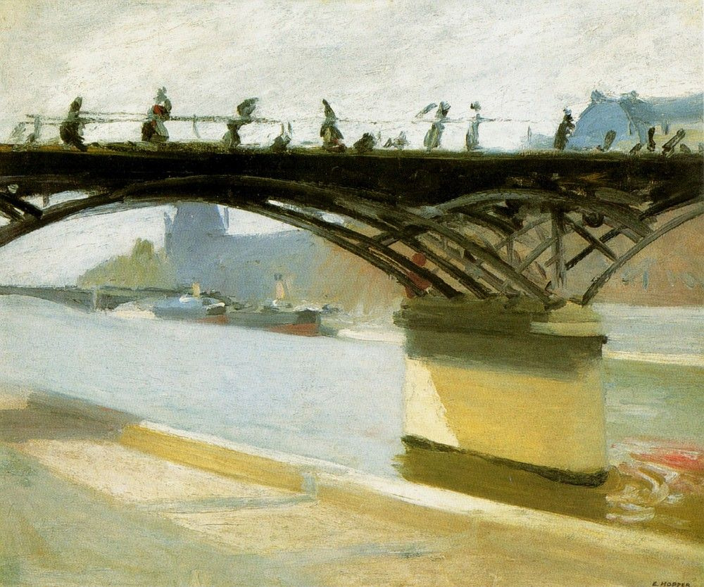 Edward Hopper. The Pont des arts