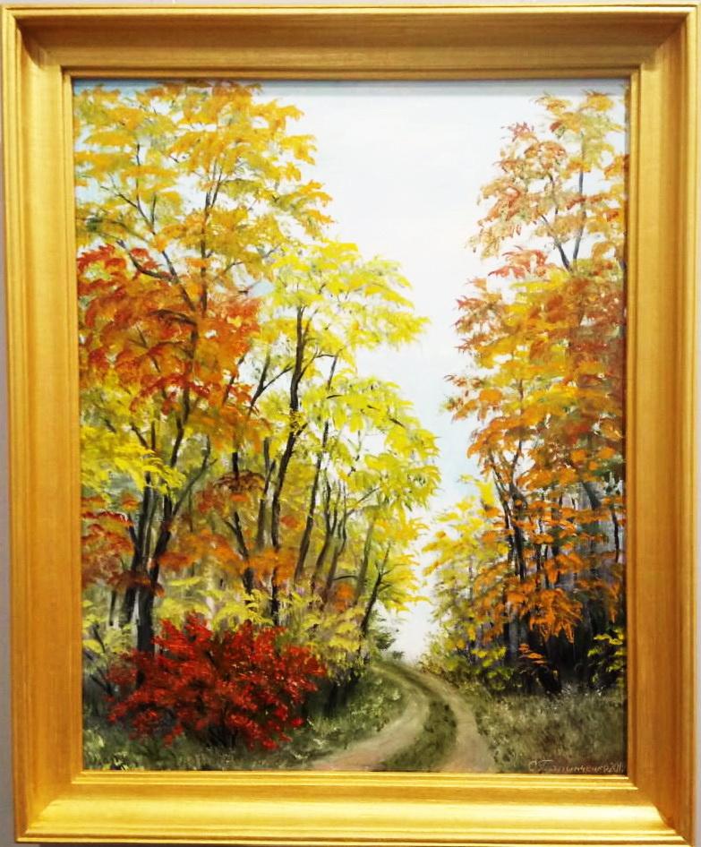 Ольга Болеславовна Горпинченко. Autumn wanders quietly
