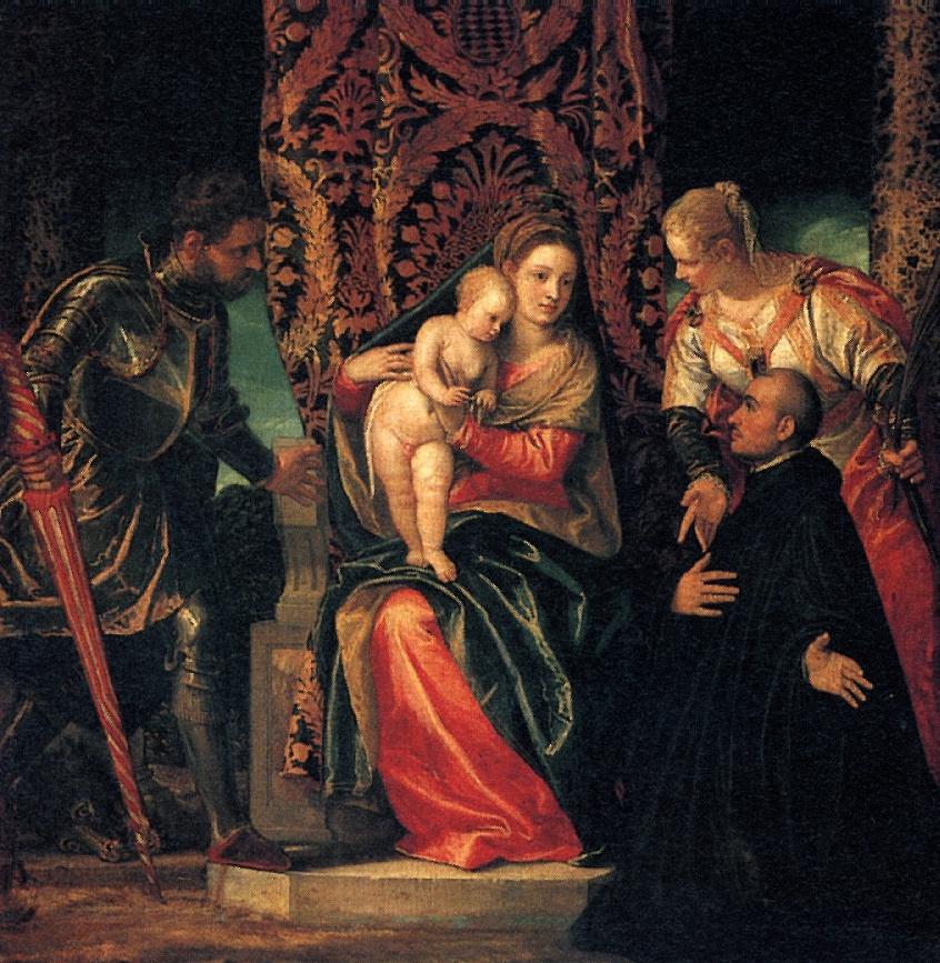 Паоло Веронезе. Мадонна с младенцем
