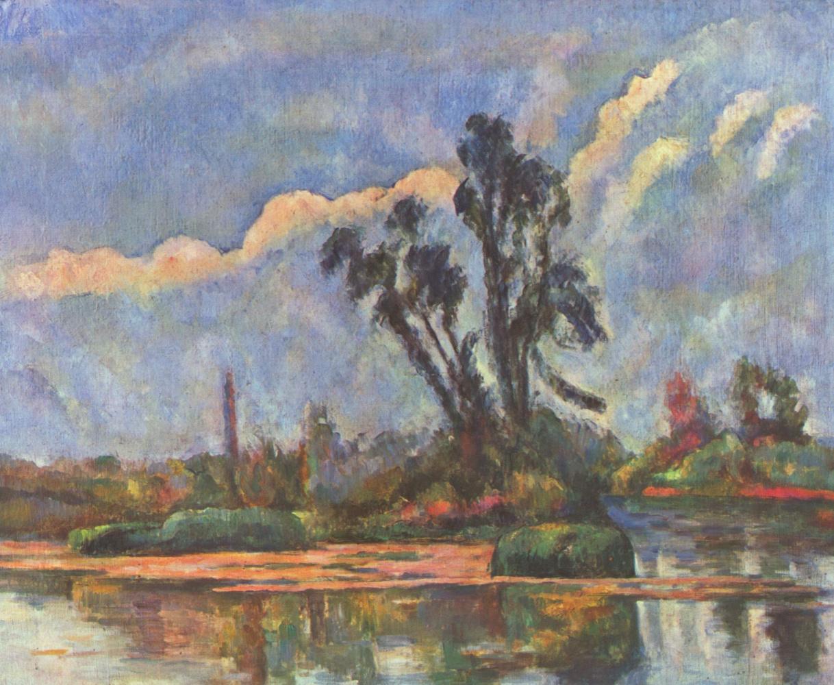 Paul Cezanne. Beach Oise