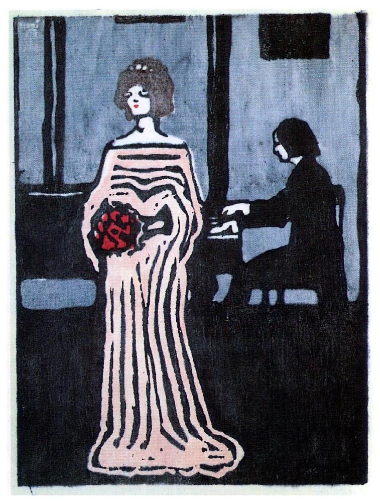 Wassily Kandinsky. Singer