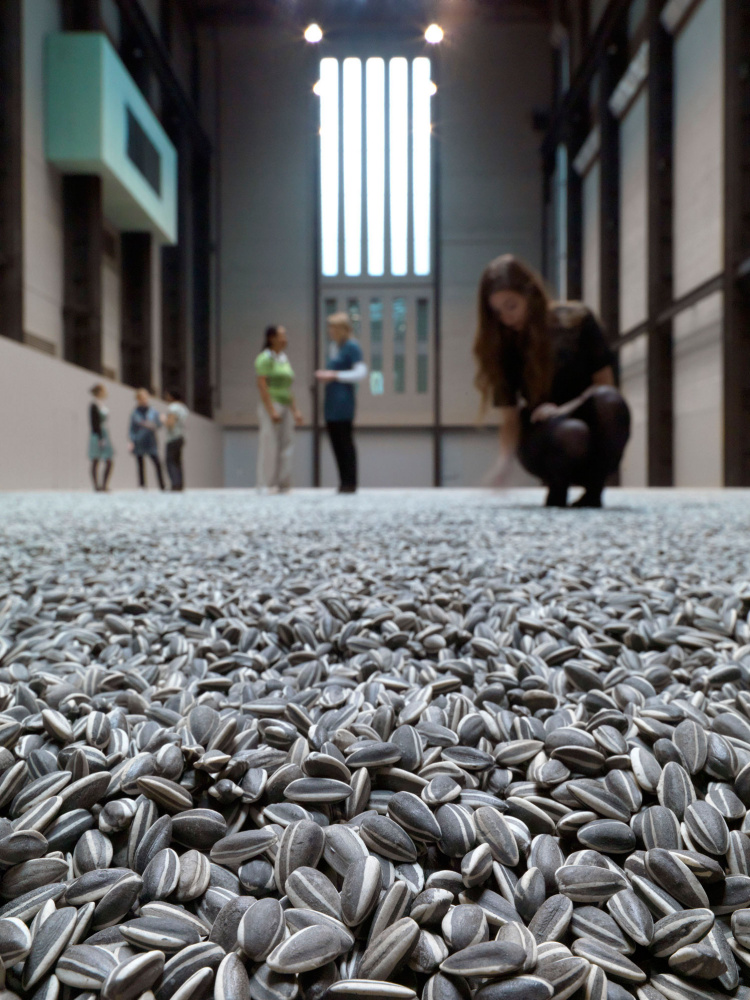 Ai Weiwei. Sunflower seeds