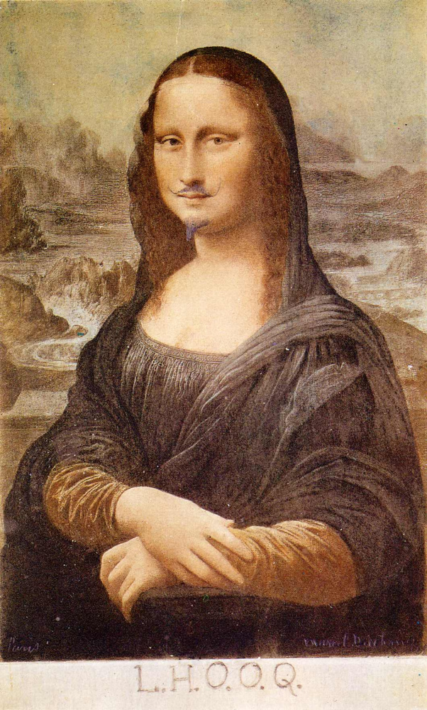 Марсель Дюшан. Мона