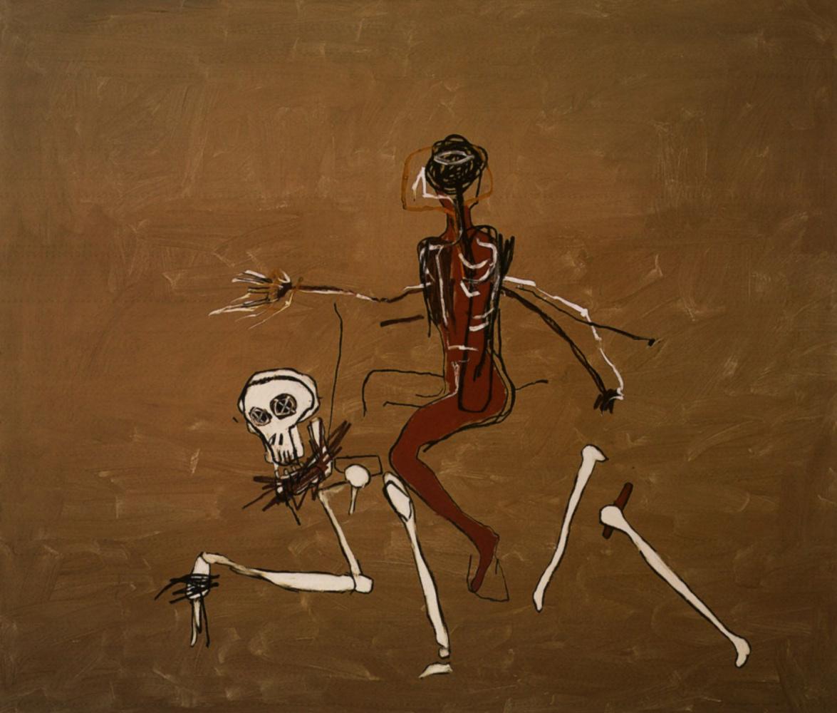 Жан-Мишель Баския. Верхом на смерти