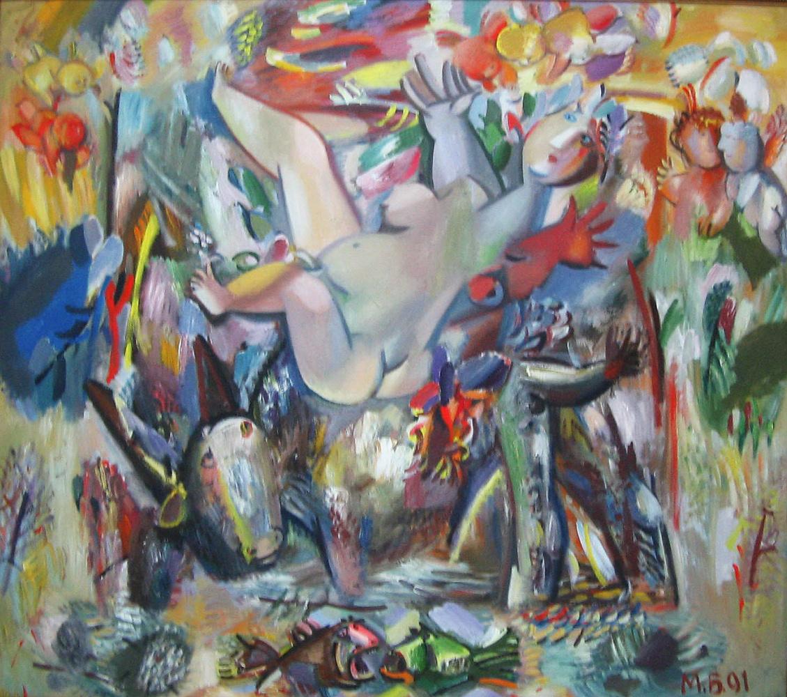 Misha Brusilovsky. The Rape Of Europa