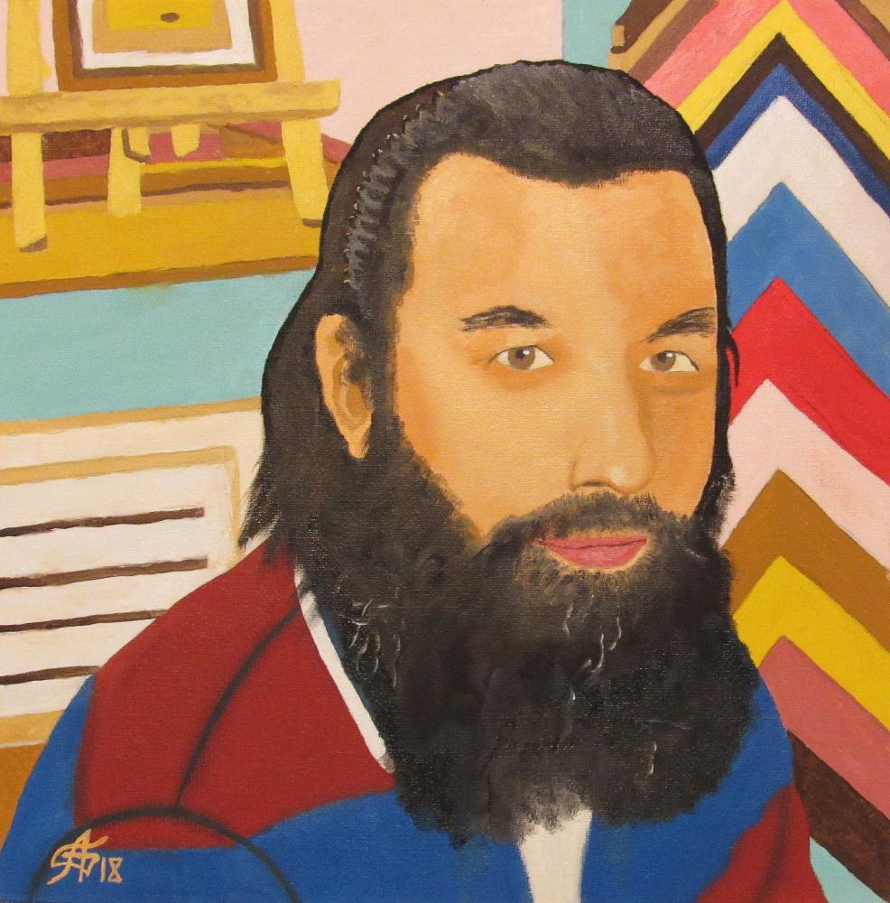 Artashes Vladimirovich Badalyan. Baguette Master Alexei Gaides - x-map. - 30x30
