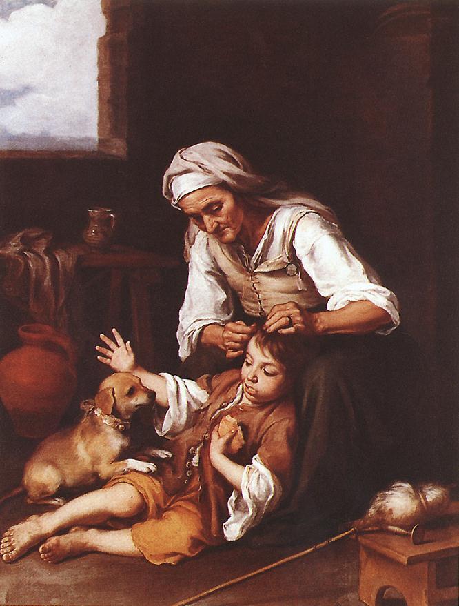 Bartolomé Esteban Murillo. Toilet