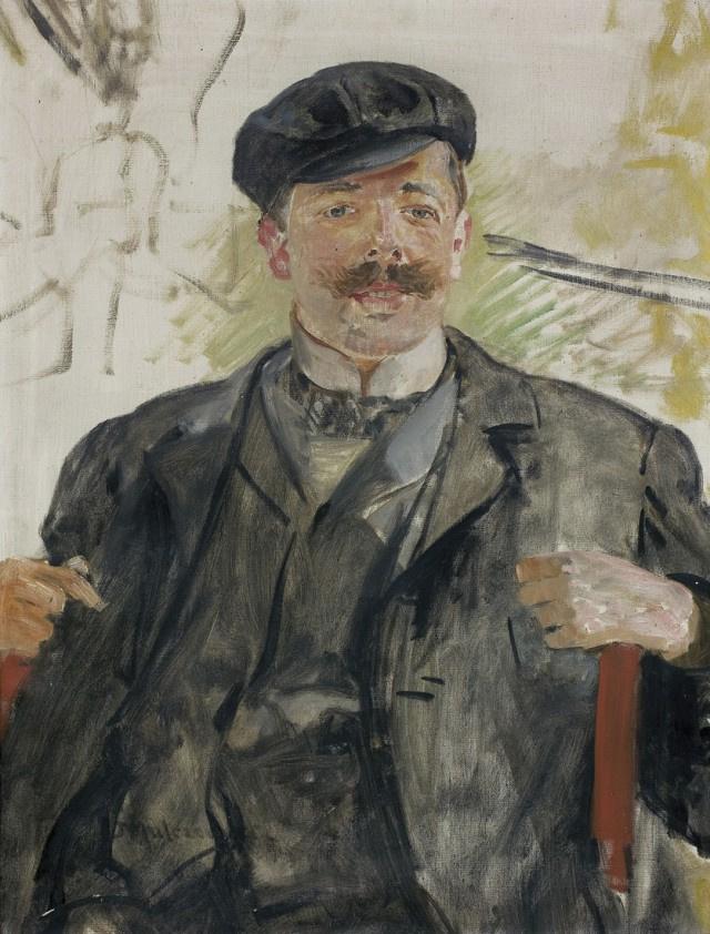 Яцек Мальчевский. Портрет мужчины