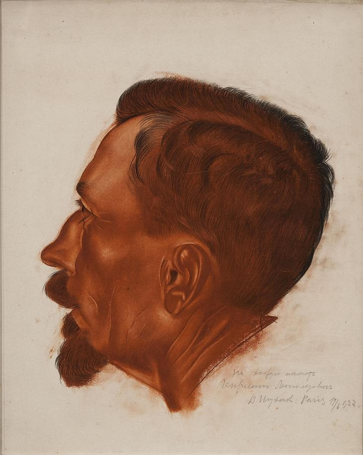 Василий Иванович Шухаев. Автопортрет. 1922
