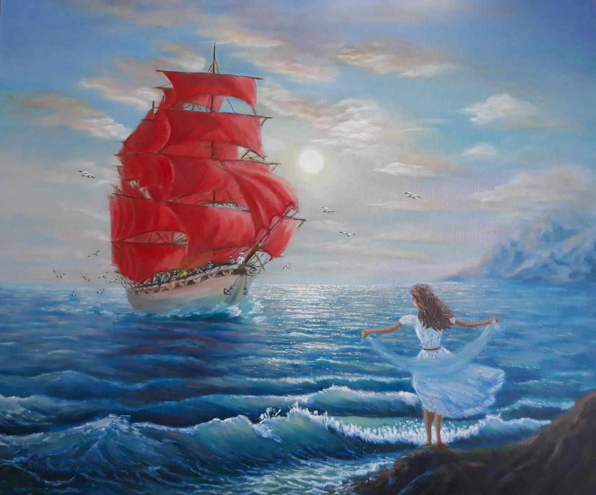 Nadezhda Nikolaevna Kravtsova. Scarlet Sails