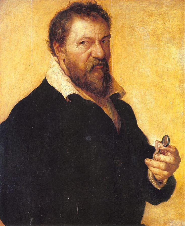 Ламберт Ломбард. Мужской портрет