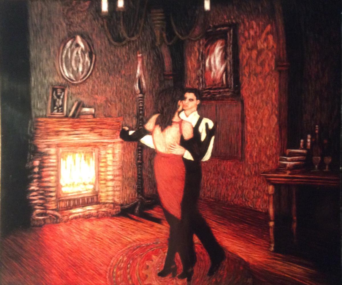 Martin Gurgenovich Ashkhatoev. Night tango