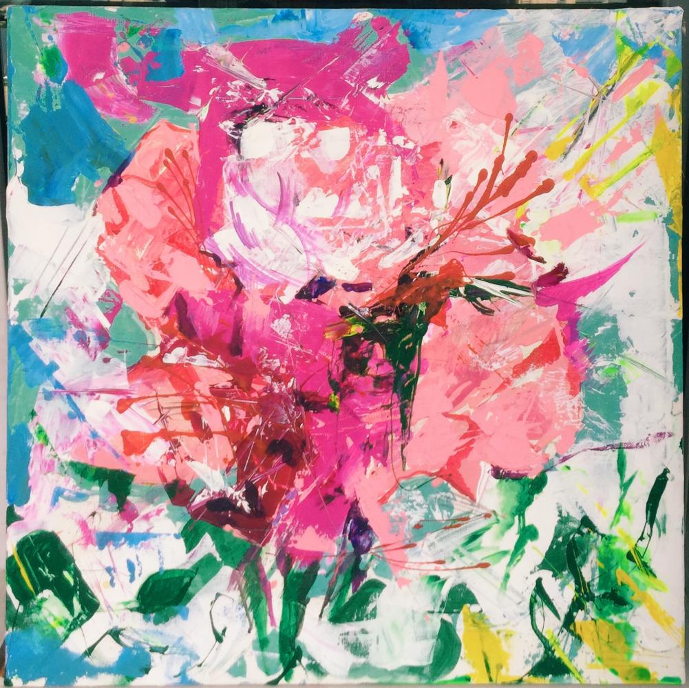 Ostap Bakin. Rose flower