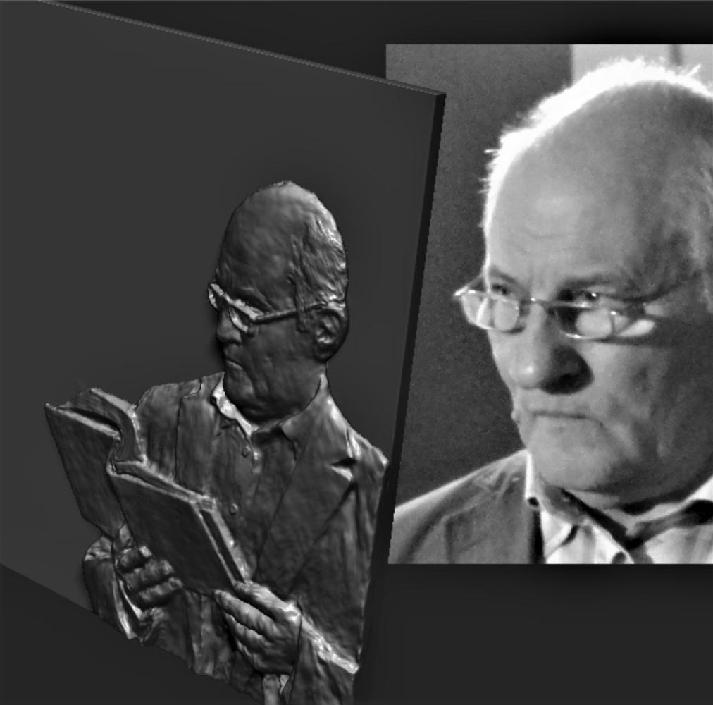 Constantin Preis. Portrait of a professor