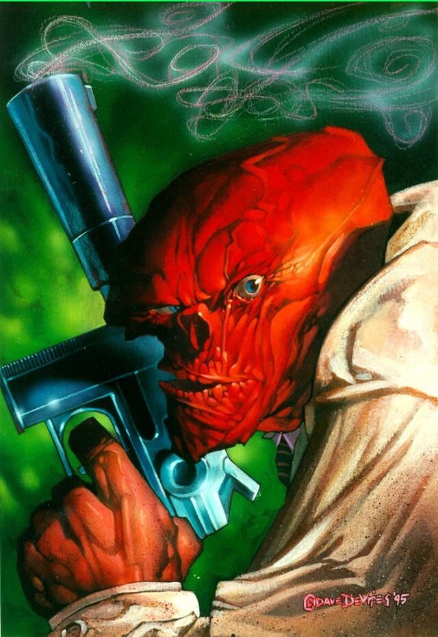 Дэйв Деврис. Красный монстр