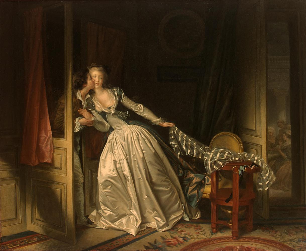 Jean-Honore Fragonard. Stolen kiss
