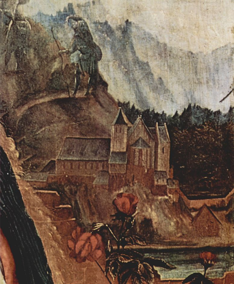 Маттиас Грюневальд. Изенгеймский алтарь, вторая лицевая сторона