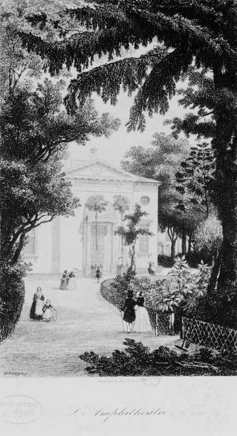 Шарль-Франсуа Добиньи. Вид сада