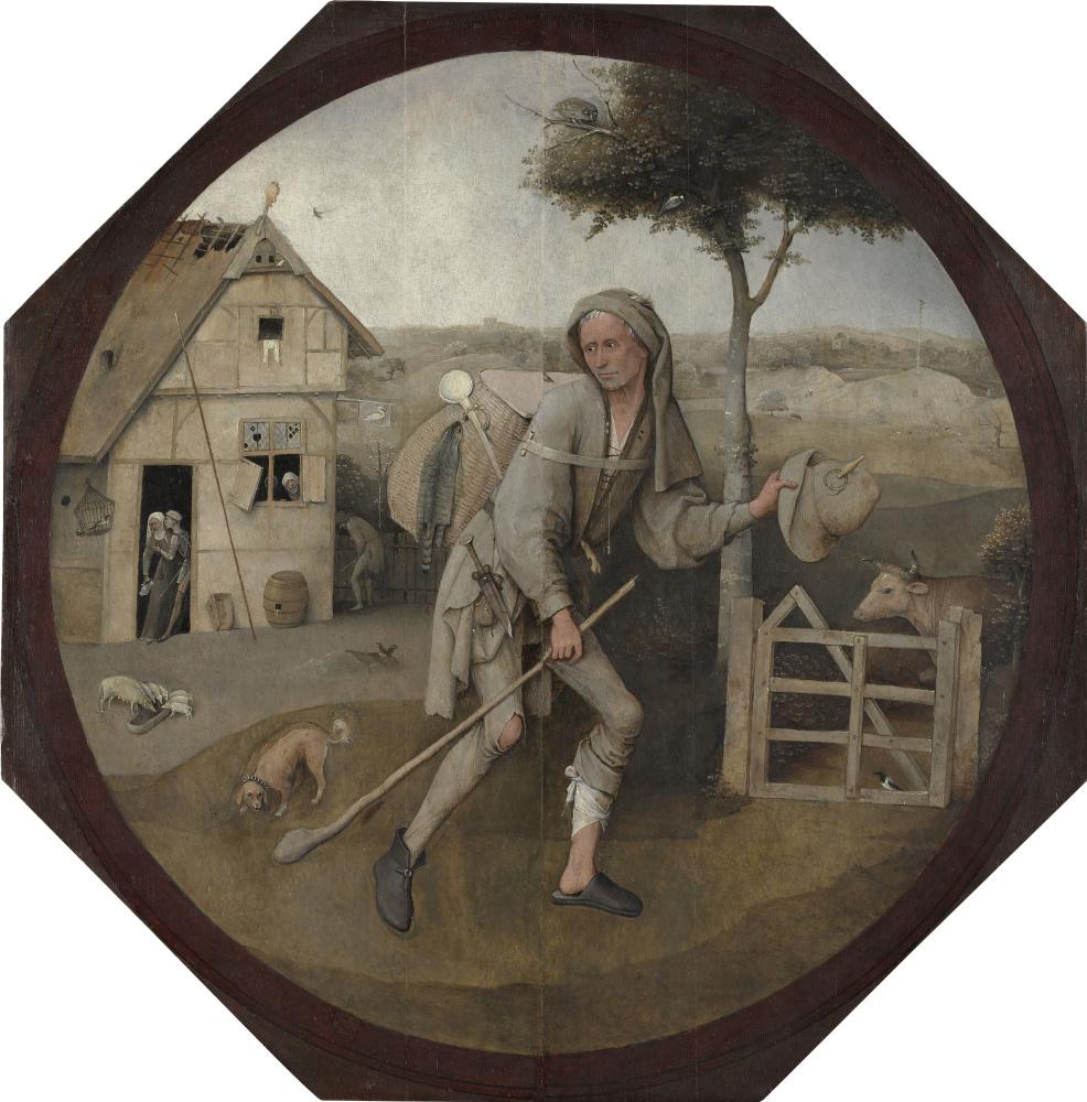 Hieronymus Bosch. Wanderer