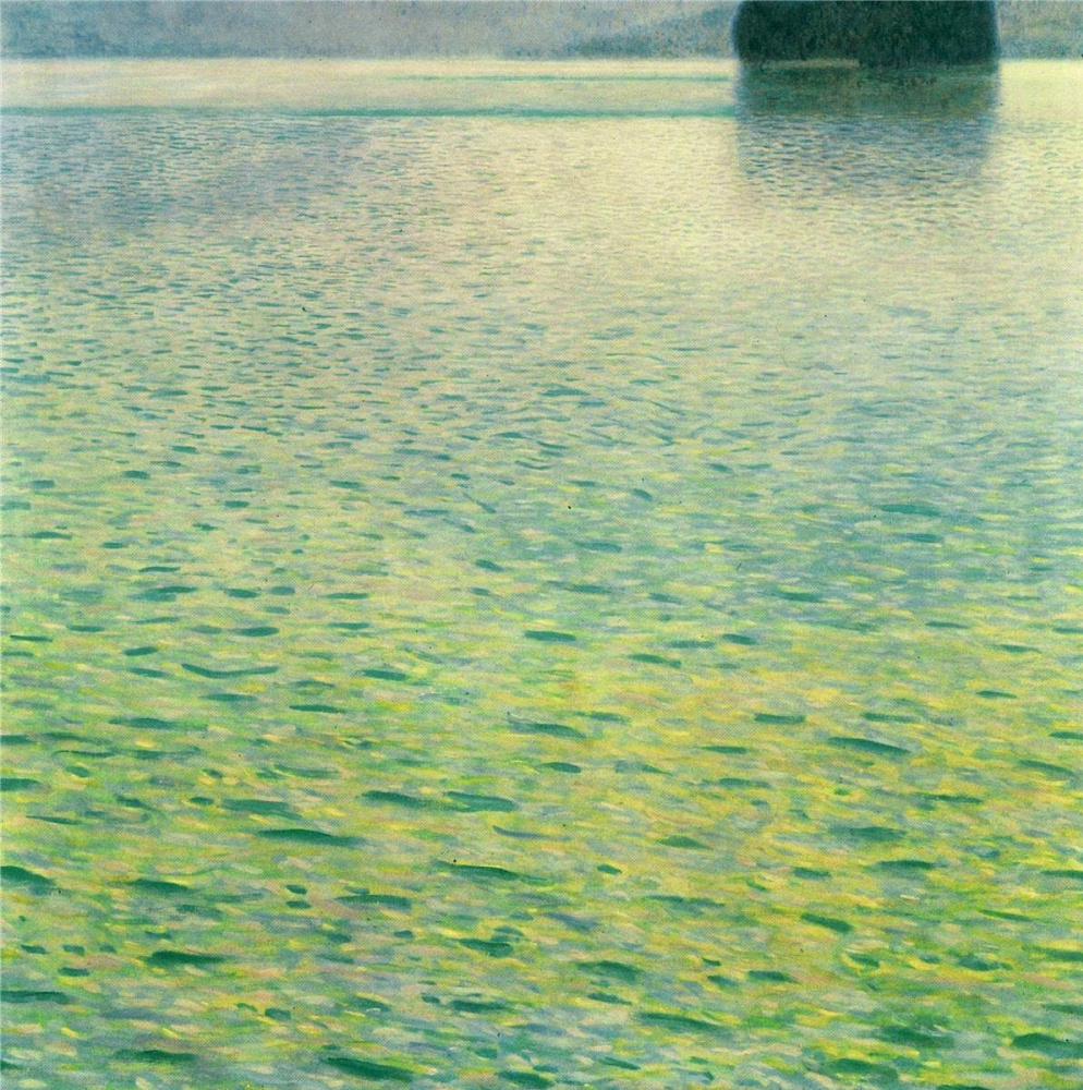 Густав Климт. Остров на озере Аттерзее